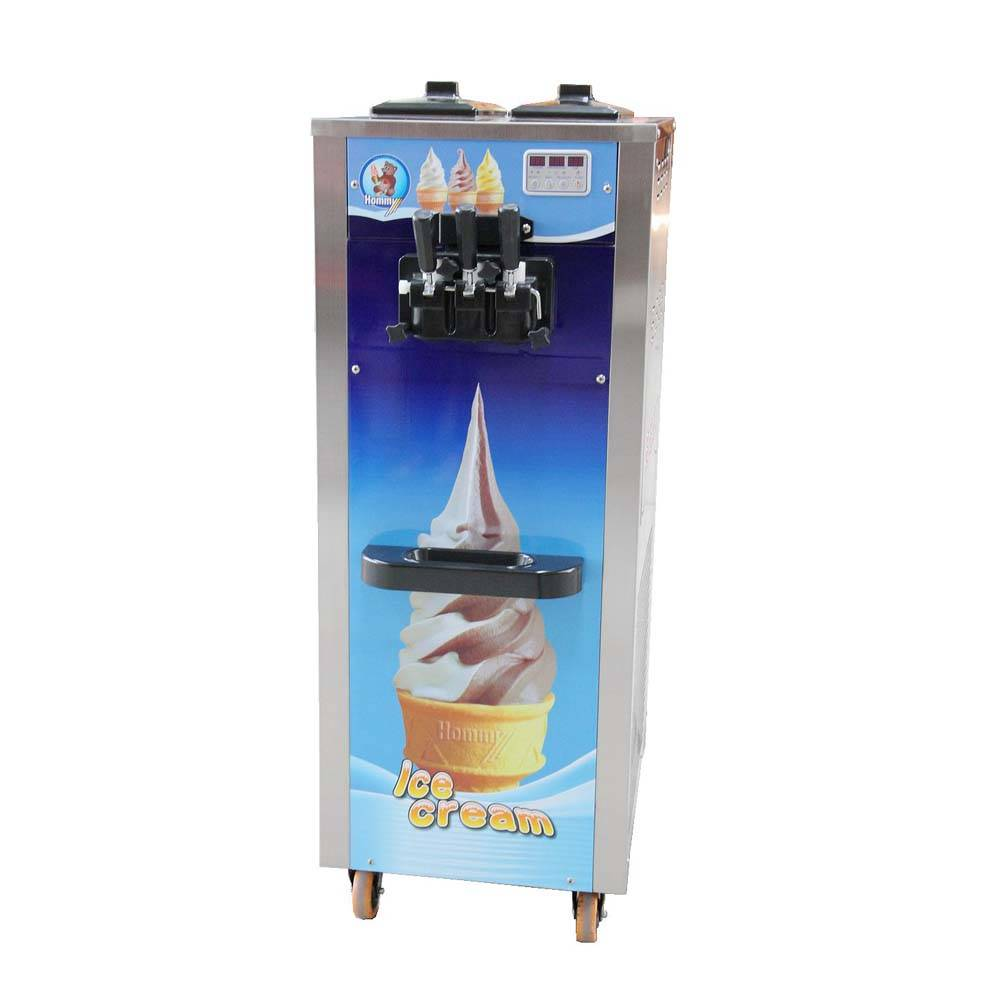 Hommy professional cheap soft ice cream machine manufacturer for supermarket