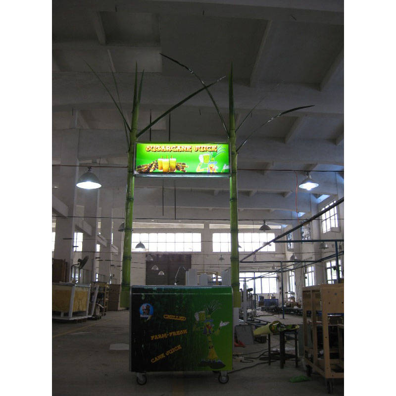 ZJ170B Sugarcane juice machine with freezer