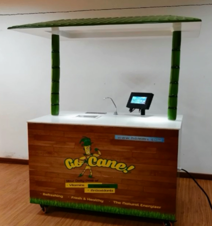 ZJ170D sugar cane juicer machine commercial