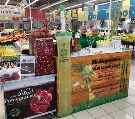 ZJ200  sugarcane juice machine with chriller and freezer