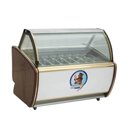 DS-1200  Hard Ice Cream Display Showcase