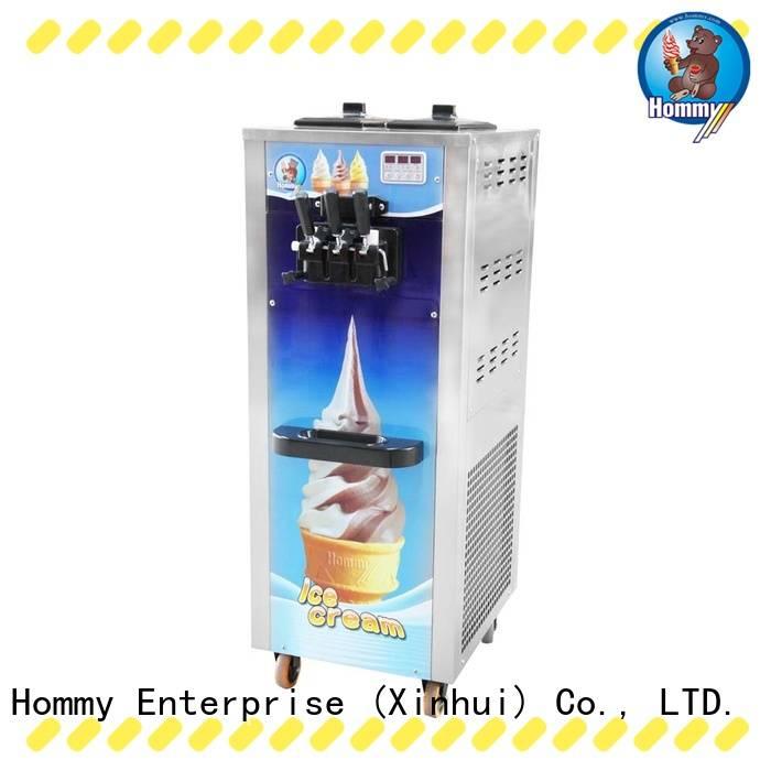 Hommy hm701 soft serve ice cream machine for sale manufacturer for snack bar