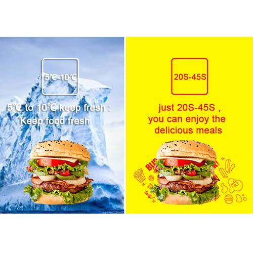 PA-C5A  Hamburgers Vending Machine