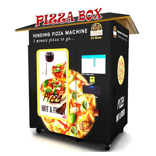 PA-C6-A   Outdoor Vending Pizza Machine
