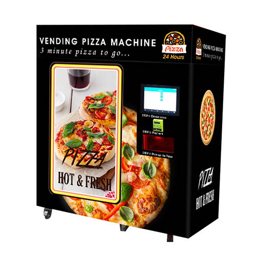 PA-C6-B   Vending Pizza Machine with infrared in outdoor