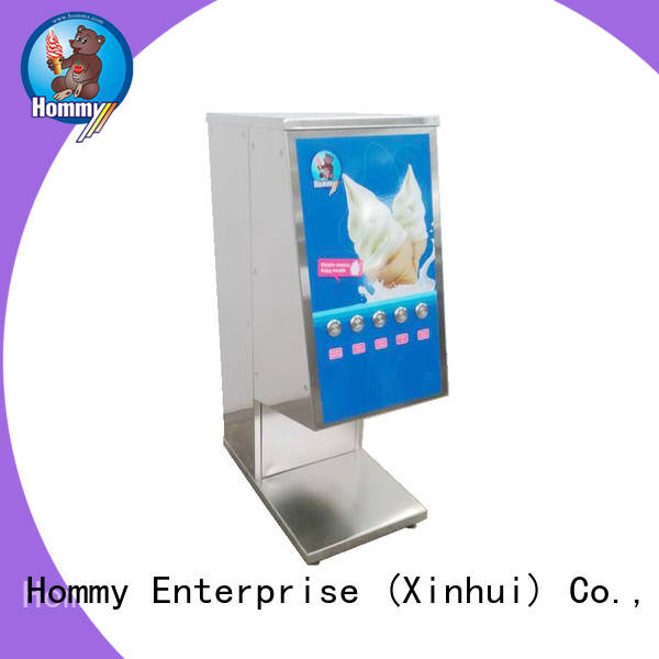Hommy delicate appearance ice cream blender machine supplier for ice cream stands