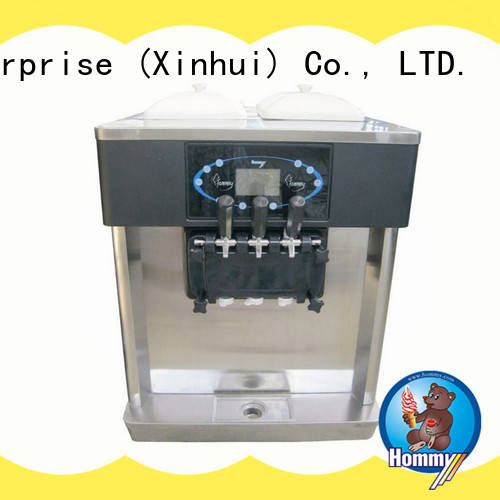Hommy competitive price frozen yogurt machine wholesale for smoothie shops