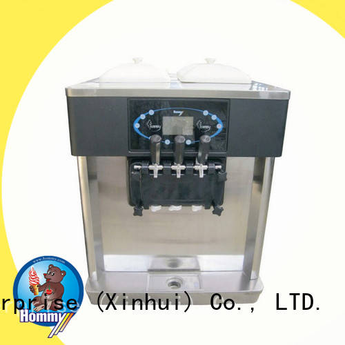 Hommy competitive price ice cream machine for sale wholesale for restaurants