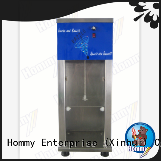 Hommy high quality mcflurry machine price supplier for convenient stores