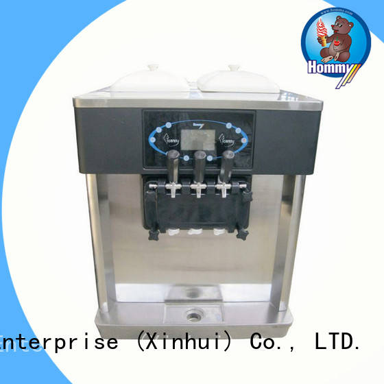 strict inspection professional ice cream machine automatic trendy designs for restaurants
