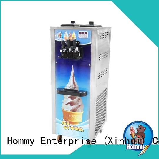 Hommy professional professional ice cream maker machine supplier for food shop