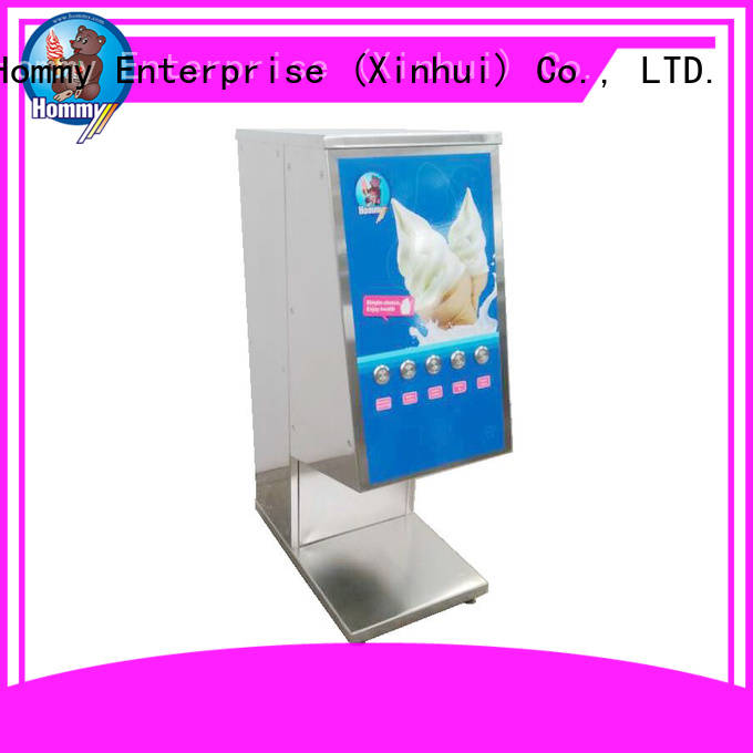 Hommy high quality ice cream mixers great efficient for convenient stores