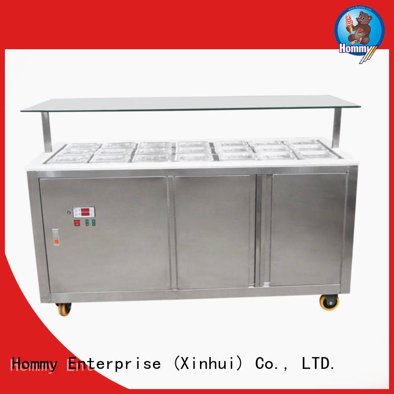 China gelato freezer showcase wholesale for ice cream shop