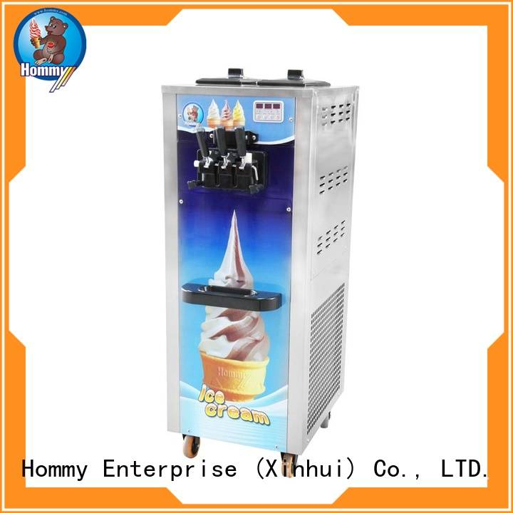 Hommy unreserved service ice cream machine price for food shop