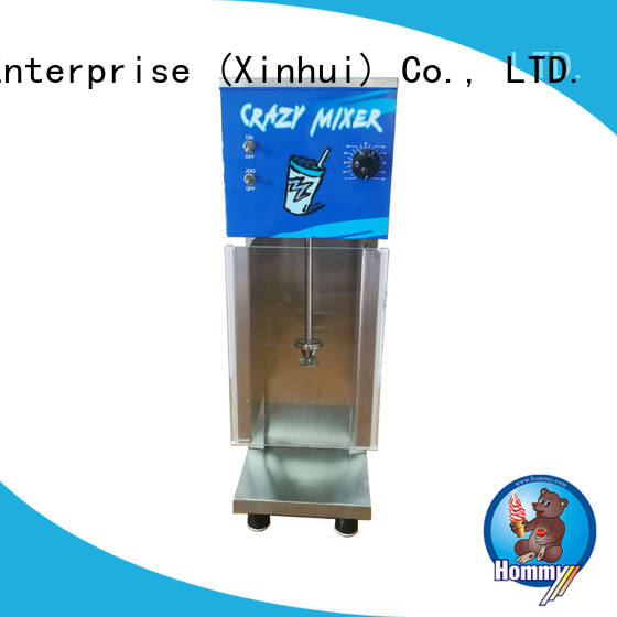 Hommy favorable price ice cream blender supplier for convenient stores
