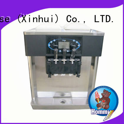 Hommy strict inspection ice cream machine price supplier for smoothie shops