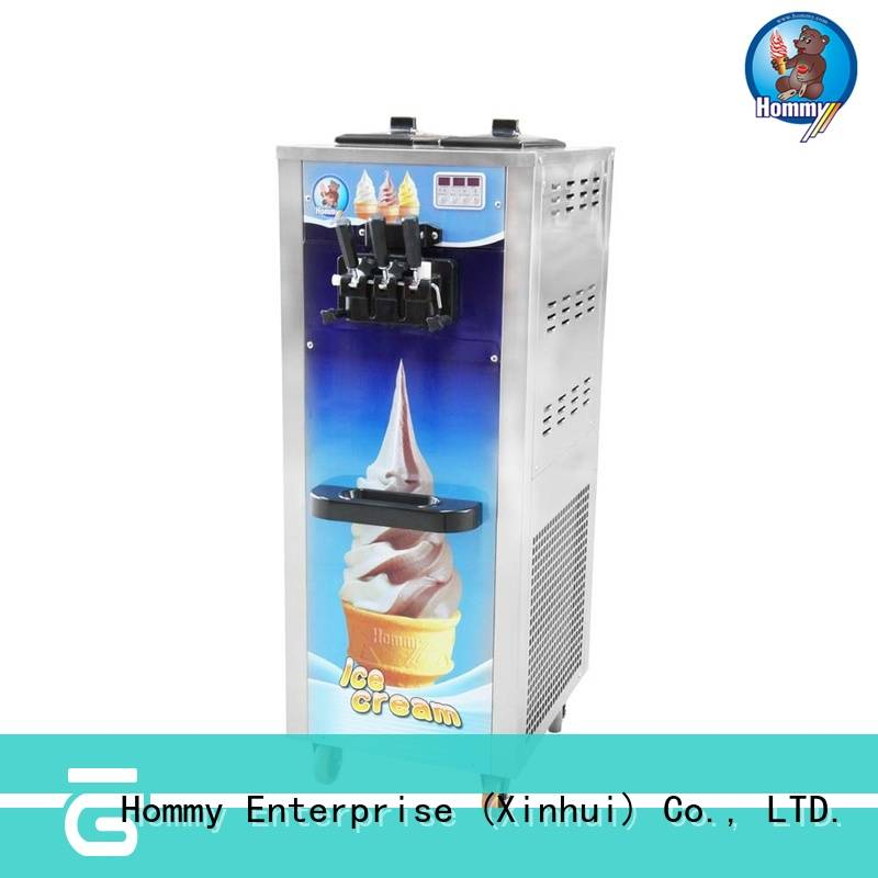 professional soft ice cream maker supplier for food shop