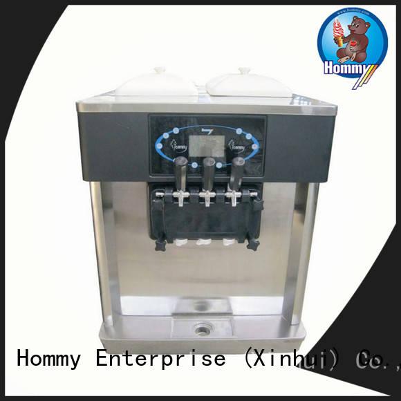 Hommy strict inspection ice cream maker machine supplier for restaurants