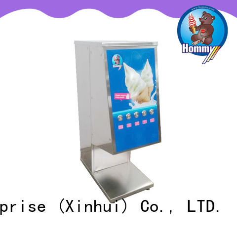 Hommy favorable price flurry mixer supplier for restaurants