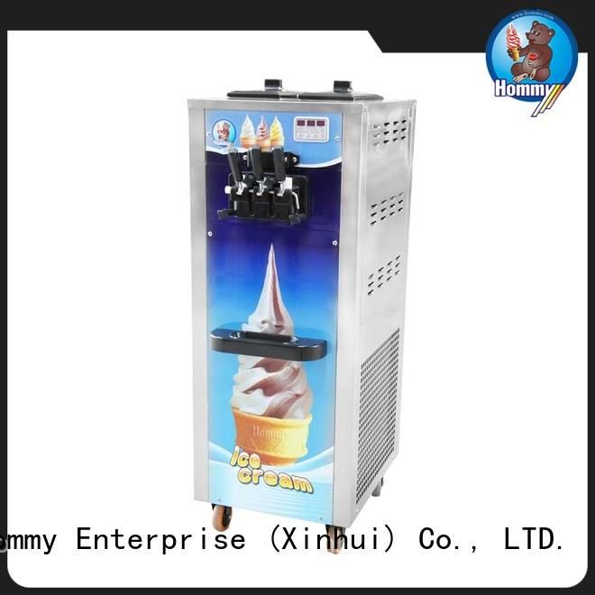 Hommy softy ice cream machine price supplier for food shop