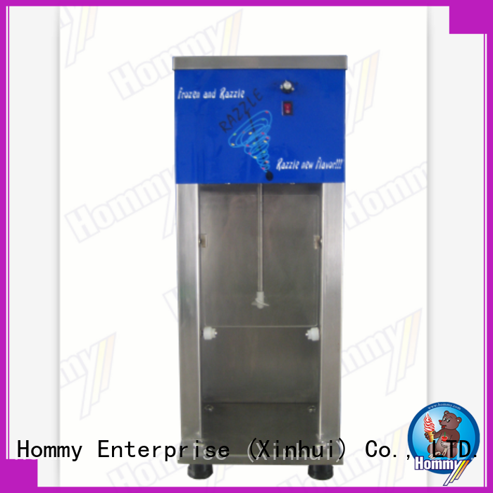 high quality blizzard machine 5 star reviews manufacturer for frozen yogurt shops