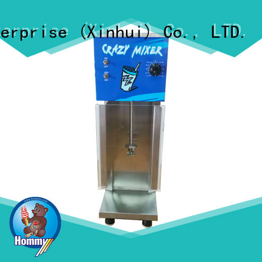 Hommy 5 star reviews ice cream blender supplier for ice cream stands