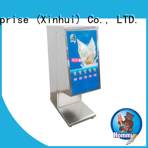Hommy delicate appearance mcflurry machine wholesale for bakeries