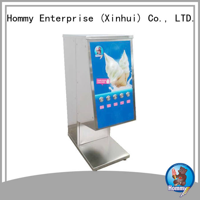 Hommy delicate appearance ice cream blender machine wholesale for ice cream stands