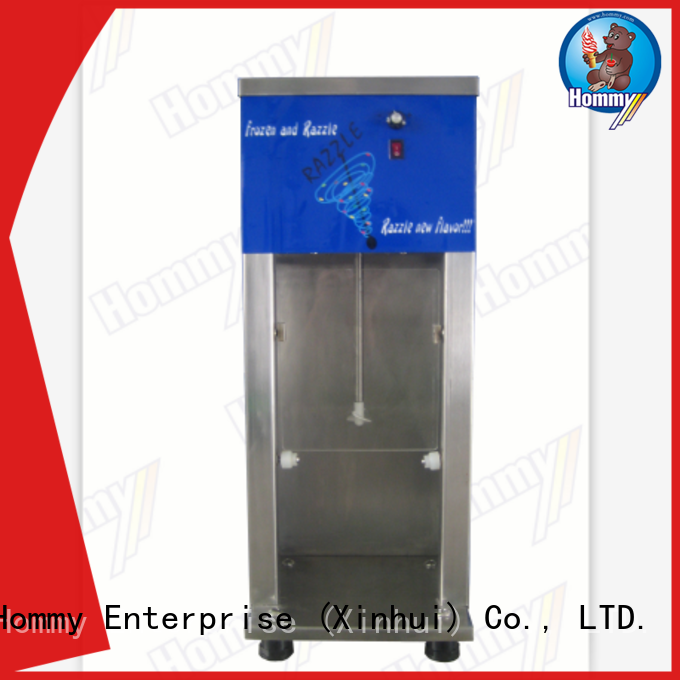 delicate appearance blizzard machine great efficient manufacturer for coffee shops