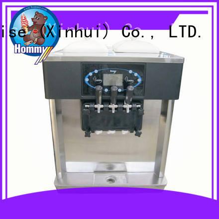Hommy hm706 professional ice cream machine supplier for ice cream shops