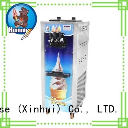 Hommy ice cream maker machine solution for supermarket