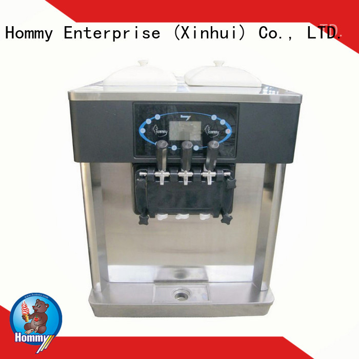 Hommy automatic ice cream machine for sale manufacturer for ice cream shops