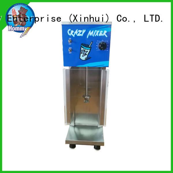 Hommy frozen dessert blizzard machine factory for coffee shops