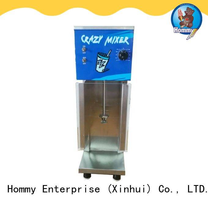 Hommy great efficient blizzard machine factory for ice cream stands