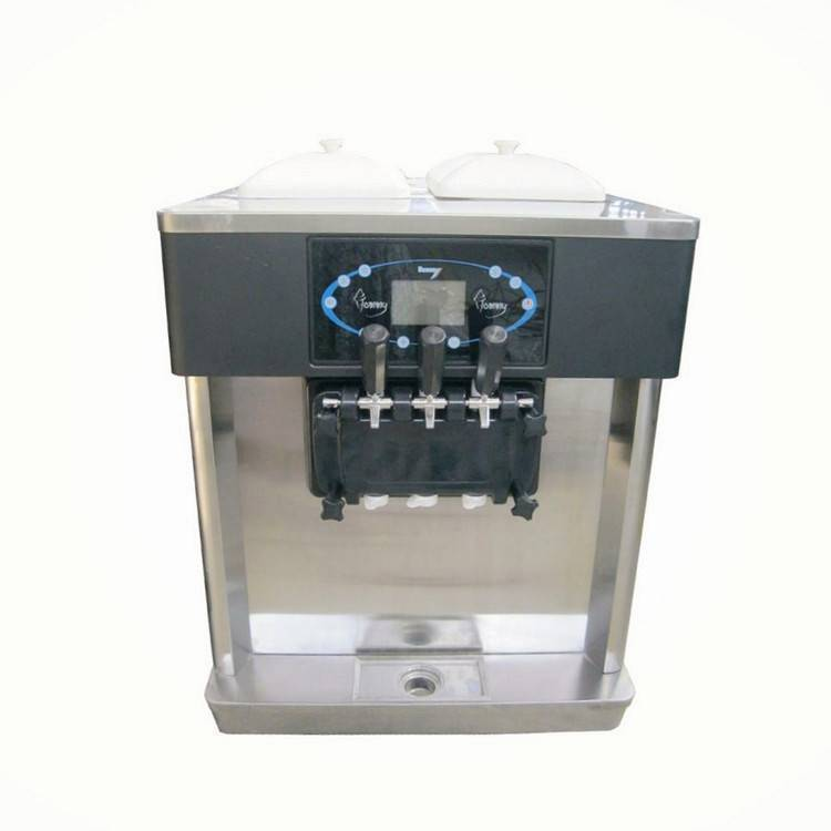 twin twist automatic table top soft serve frozen yogurt  machine