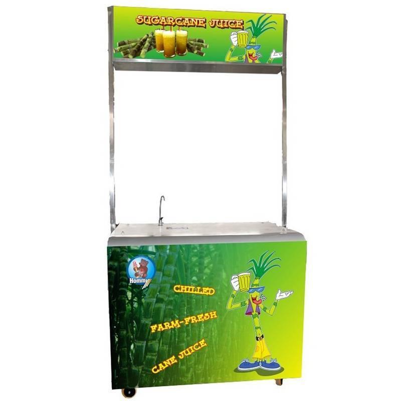 ZJ170B Sugarcane juice machine with freezer