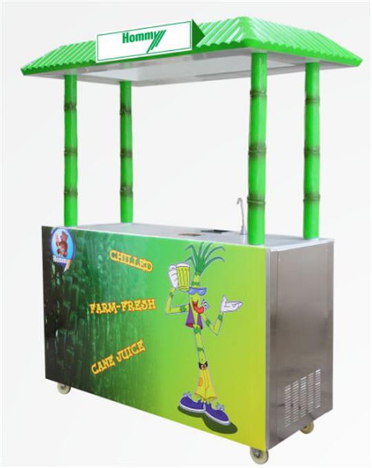 ZJ190D sugarcane juicer machine with cooling