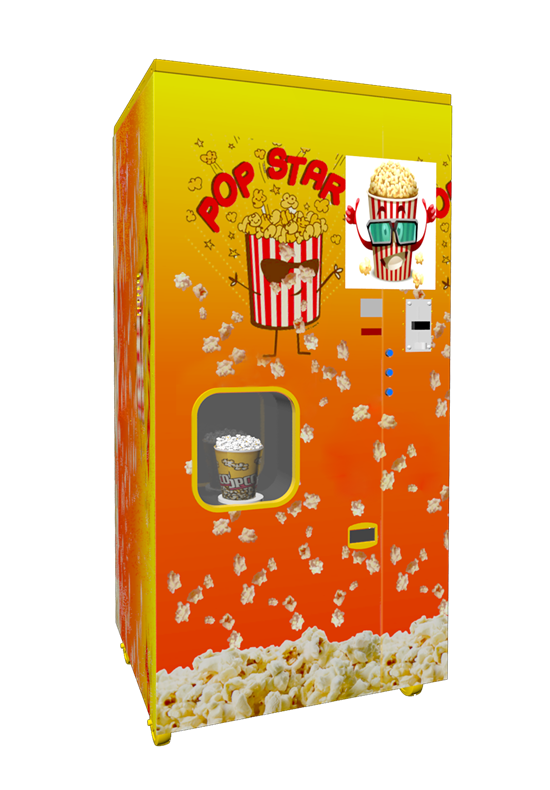 HM-PM-18A Automatic vending Popcorn machine