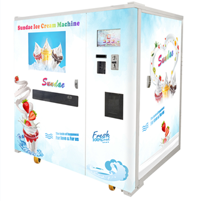 HM931S vending sundae ice cream machine