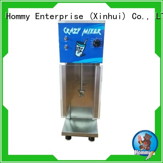 Hommy favorable price ice cream mixer machine supplier for ice cream stands