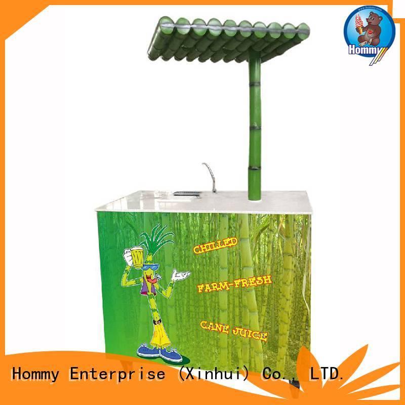 Hommy professional sugarcane juicer solution for supermarket