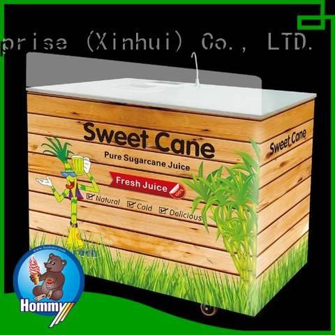 Hommy unrivaled quality sugar cane juicer extractor manufacturer for snack bar