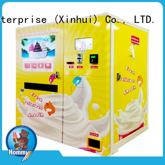 quality assurance vending machine ice cream top wholesale for restaurants