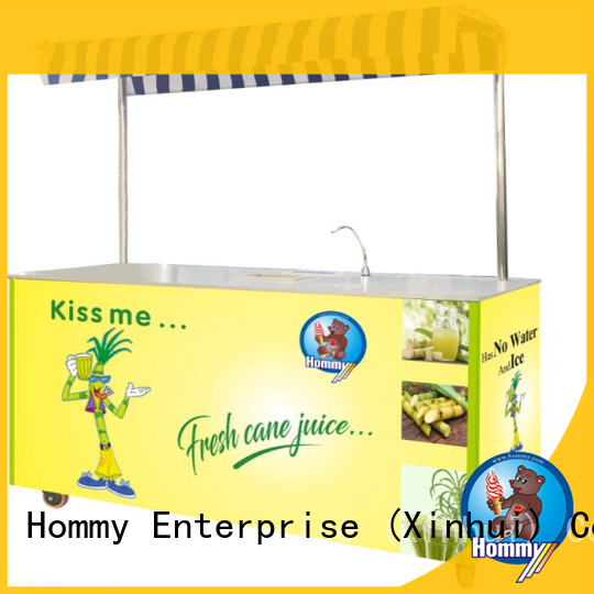 Hommy revolutionary sugar cane juicer machine supplier for food shop