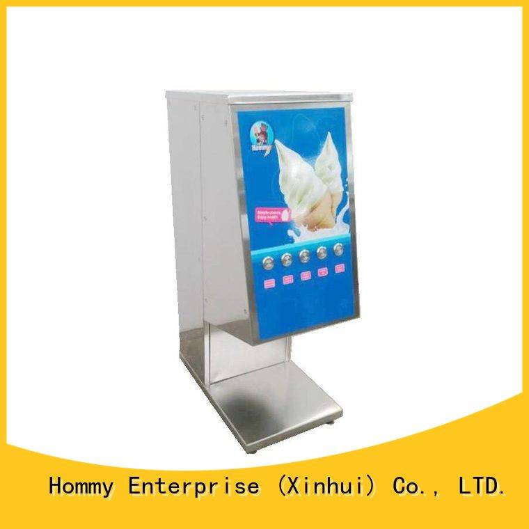Hommy ice cream blender manufacturer