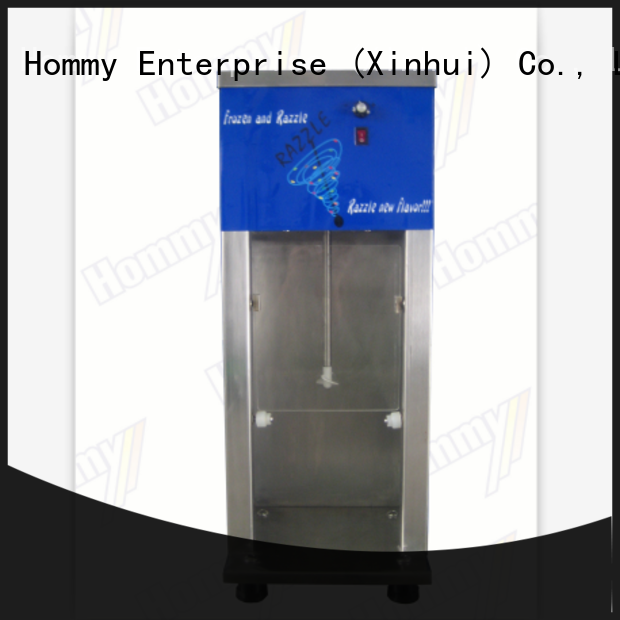Hommy great efficient mcflurry machine manufacturer for restaurants