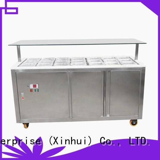 Hommy ice cream display counter manufacturer