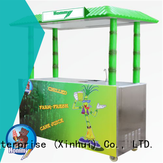 Hommy hygienic sugarcane juice extractor supplier for supermarket