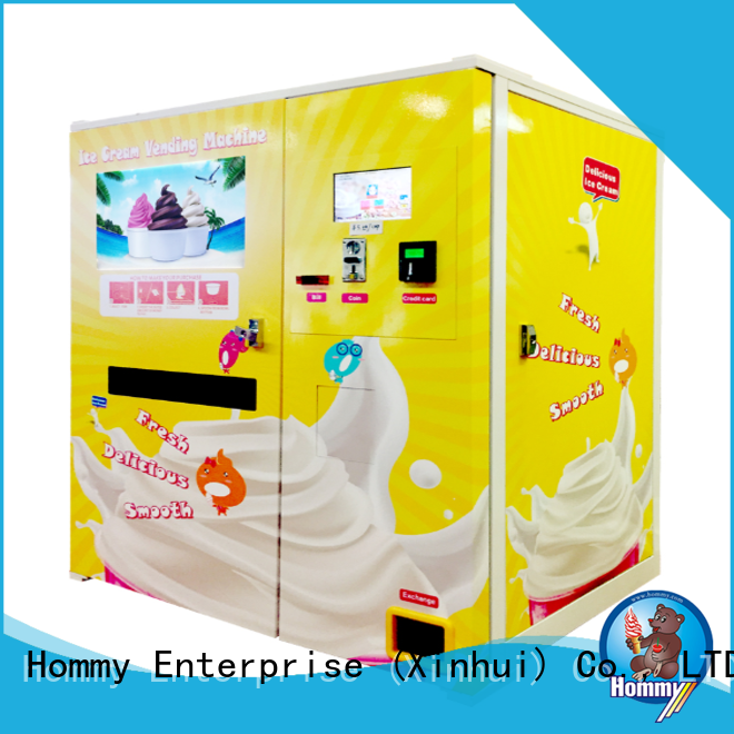 Hommy quality assurance automatic vending machine wholesale for beverage stores