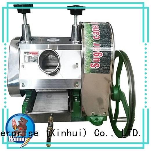 Hommy revolutionary sugar cane juicer machine manufacturer for supermarket